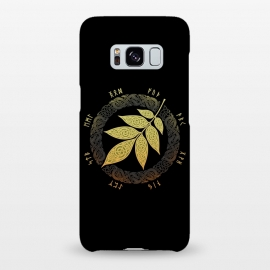 Galaxy S8+  ASGARD. FALL. by RAIDHO (ASGARD,YGGDRASSIL,ASH LEAF,VIKINGS,NORDIC MYTHOLOGY,KNOTWORK,FUTHARK,RUNES)