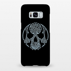 Galaxy S8+  NIDHOGGR by RAIDHO (SKULL,DRAGON,NORDIC MYTHOLOGY,VIKINGS,KNOTWORK)