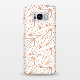 Galaxy S8+  Rose Gold & White  by Uma Prabhakar Gokhale