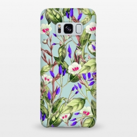 Galaxy S8+  The Obsession by Uma Prabhakar Gokhale (aerosol, other, pattern, impressionism, realism, floral, nature, bold, flowers, exotic, tropical, delicate, purple, pink, botanical)