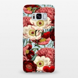 Galaxy S8+  Velvet by Uma Prabhakar Gokhale (acrylic, other, pattern, vintage, floral, nature, botanical, bloom, flowers, exotic, tropical)