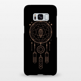 Galaxy S8+  Unity by Grant Stephen Shepley (dreamcatcher,owl,dream,night,stars,mountain,river,nature,outdoors,minimal,bird,birds,mystic,black,gold,sun,moon,travel,adventure,vector)