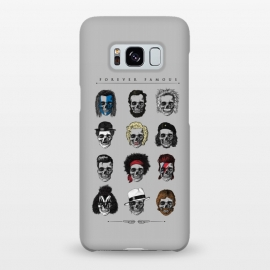 Galaxy S8+  Forever Famous by Grant Stephen Shepley (skeleton,parody,pop culture,famous,celebrity,history,sketch,music,film,movies)