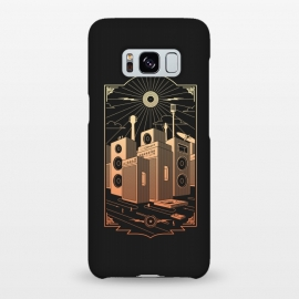 Galaxy S8+  Sound City by Grant Stephen Shepley (Rock,rocknroll,rock and roll,music,song,band,bands,70's,60's,city,newyork,building,vector,sun,vinyl,lp,record)