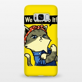 Galaxy S8+  We Can Do It! Purrrsist! by Vó Maria