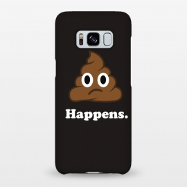 Galaxy S8+  Well... Happens. by Vó Maria (shit,happens,emoticon,emoji,icon,whatsapp,smile,face,cute,character,slogan,sayings)