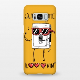 Galaxy S8+  Summertime lovin by Ilustrata (regular-show , rigby , mordecai , benson , a-regular-show , regular , mordecai-and-the-rigby , muscle-man , summer , summertime , lovin)
