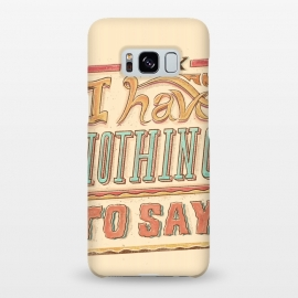 Galaxy S8+  Im ok by Ilustrata (lettering , letter , ilustration , word , words , bold , retro , vintage , design , tipography , tipograpy , tipo)
