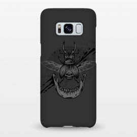 Galaxy S8+  Beetle jaw by Lucas Dutra (beetle,skull,velozobas,splat,teeth,mandible)