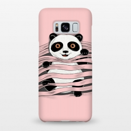 Galaxy S8+  Little Panda by Coffee Man (panda, little panda,animal,nature,cute,funny,wild,adorable,pet,pet lover,pets, pets lover)