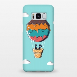 Galaxy S8+  Sweet  Journey by Coffee Man (ice cream,ballon,skype,cloud,funny,melted,couple,romance,love,livers,sweet,sugar)