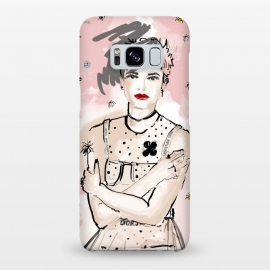Galaxy S8+  Dior Girl by MUKTA LATA BARUA (fashion,dior,girl,illustration)