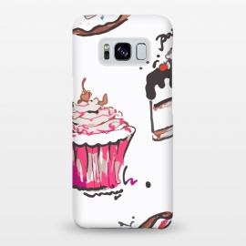 Galaxy S8+  Cake Love by MUKTA LATA BARUA (cake,pastry,drawing,vector,graphic,sweets)