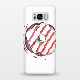 Galaxy S8+  Donut Love 2 by MUKTA LATA BARUA (donuts,sweet,dessert,summer,food,graphic,illustration,art)