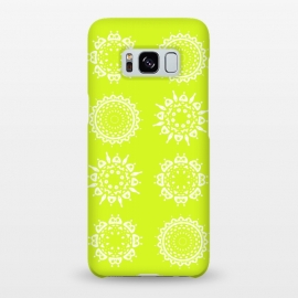 Galaxy S8+  Oh Chartreuse! by Bettie * Blue