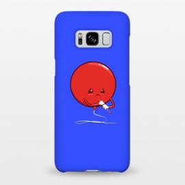 Galaxy S8+  Ready to pop by Xylo Riescent (robo rat,balloon,needle,funny,kids,cool,awesome,blue)