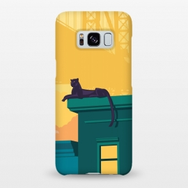 Galaxy S8+  Urban jaguar by Roland Banrévi