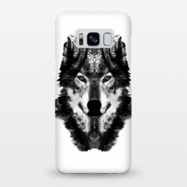 Galaxy S8+  The Black Forest Wolf  by Rui Faria