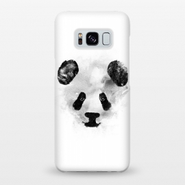 Galaxy S8+ SlimFit Panda by Rui Faria (panda,ink,paint,watercolor,black and white,minimal,clean,cute)