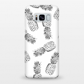 Galaxy S8+  Pineapples black and white by Rui Faria