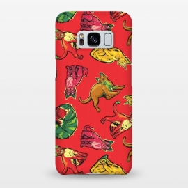 Galaxy S8+  Fruit Cats by Draco