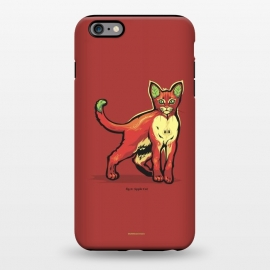 iPhone 6/6s plus  [ Fruit Cats ] Apple by Draco