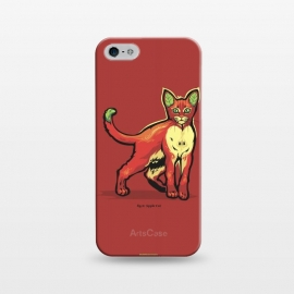 iPhone 5/5E/5s  [ Fruit Cats ] Apple by Draco