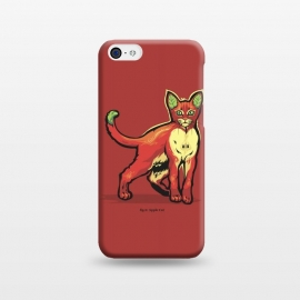 iPhone 5C  [ Fruit Cats ] Apple by Draco
