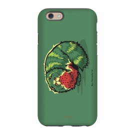 iPhone 6/6s StrongFit [ Fruit Cats ] Watermelon by Draco (watermelon,cat,fruit)