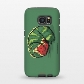 Galaxy S7  [ Fruit Cats ] Watermelon by Draco