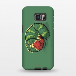 Galaxy S7 EDGE  [ Fruit Cats ] Watermelon by Draco