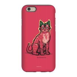 iPhone 6/6s  [ Fruit Cats ] Strawberry by Draco