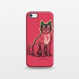 iPhone 5C  [ Fruit Cats ] Strawberry by Draco