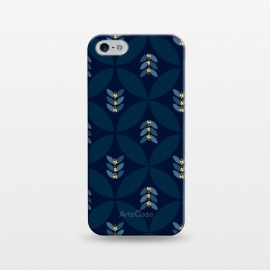 iPhone 5/5E/5s  Geometric blue by Stefania Pochesci