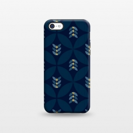 iPhone 5C  Geometric blue by Stefania Pochesci