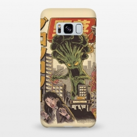 Galaxy S8+  THE BROCCOZILLA by Ilustrata (broccozilla,tokio,desntruction,movie,japanese,Godzilla,kaiju,Terrible,food)
