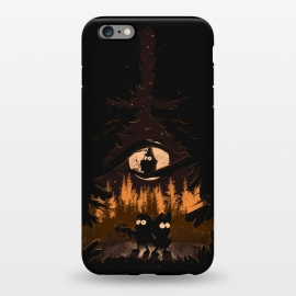 iPhone 6/6s plus StrongFit A summer of mysteries by Ilustrata (gravity falls,Dipper,mable,forest,nature,disney)