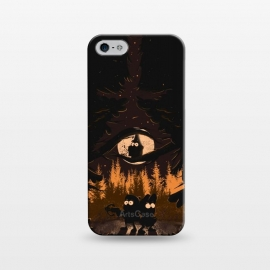 iPhone 5/5E/5s  A summer of mysteries by Ilustrata (gravity falls,Dipper,mable,forest,nature,disney)
