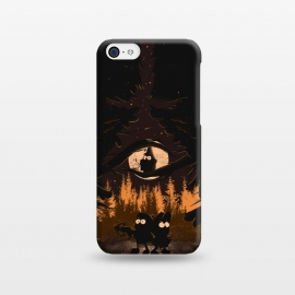 iPhone 5C  A summer of mysteries by Ilustrata (gravity falls,Dipper,mable,forest,nature,disney)