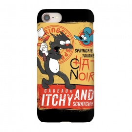 iPhone 8/7  Chat Noir Simpsons by Ilustrata