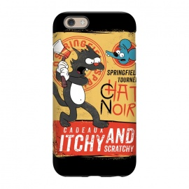 iPhone 6/6s  Chat Noir Simpsons by Ilustrata