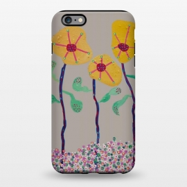 iPhone 6/6s plus StrongFit Saturn's Flowers 2 by Helen Joynson (modern fun)