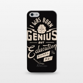 iPhone 5/5E/5s  Born Genius by Tatak Waskitho