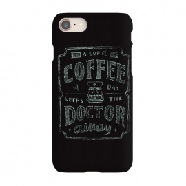 iPhone 7 SlimFit Keeps The Doctor Away by Tatak Waskitho (coffee)