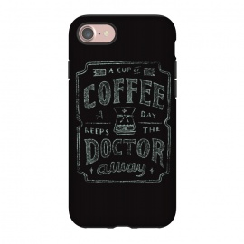 iPhone 8/7  Keeps The Doctor Away by Tatak Waskitho (coffee)
