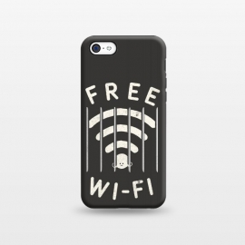 iPhone 5C  Free wi-fi by Shadyjibes