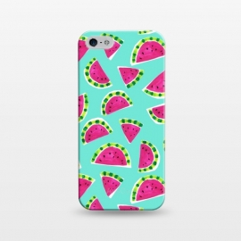 iPhone 5/5E/5s  painted watermelon by Laura Grant