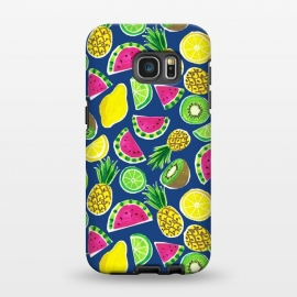 Galaxy S7 EDGE  painted fruit salad by Laura Grant