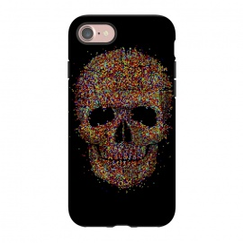 iPhone 8/7  Acid Skull by Sitchko Igor (skull, acid,music,pixel,pixels,smite,electronic,underground,colorful,horror,particles,effect,color,8 bit,lsd)