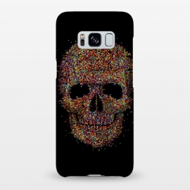 Galaxy S8+  Acid Skull by Sitchko Igor (skull, acid,music,pixel,pixels,smite,electronic,underground,colorful,horror,particles,effect,color,8 bit,lsd)